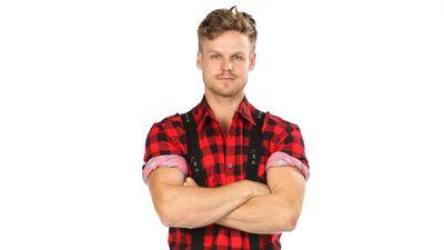 Harry Cole competing in Australian Ninja Warrior 2020.