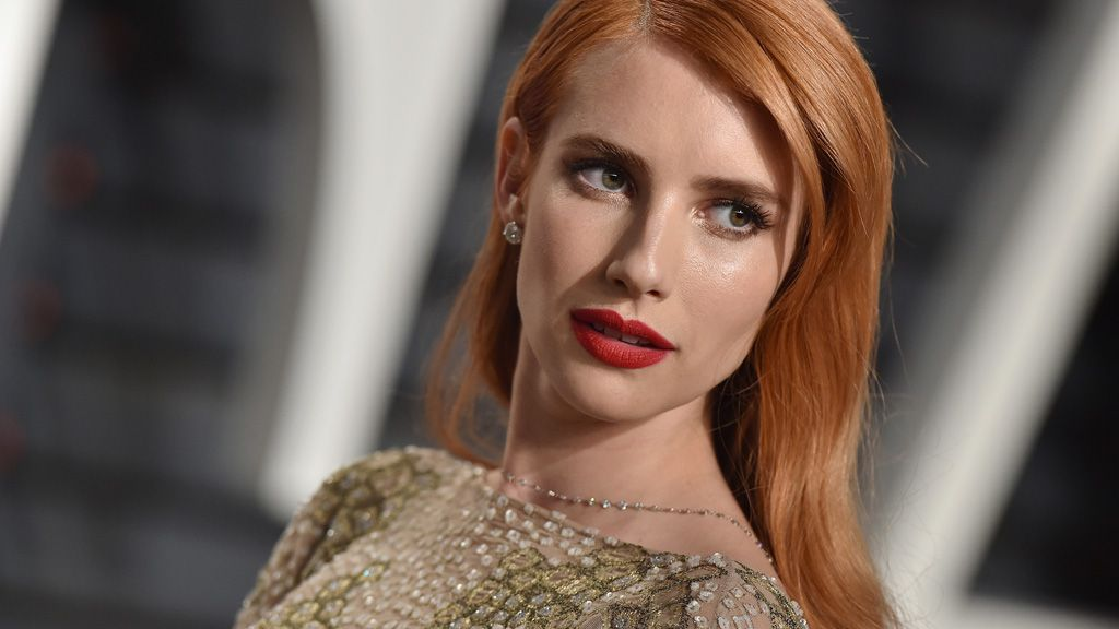 Emma Roberts, niece of Julia, actress and owner of awesome hair. Image: Getty.