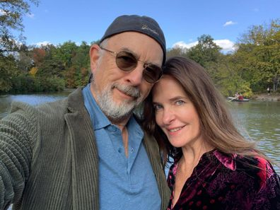 Richard Schiff, wife Sheila Kelley