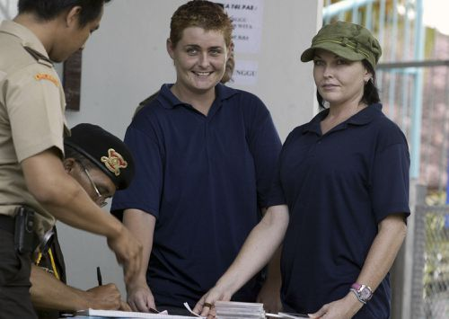 Schapelle Corby and Renae were imprisoned together for a while at Kerobokan jail.