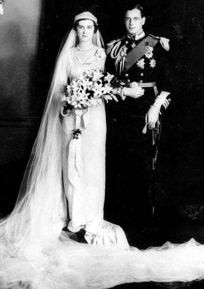 Princess Marina of Greece, married 1934