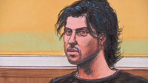 Terror accused Harun Causevic. (9NEWS)
