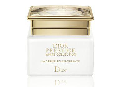 "<a href=""http://shop.davidjones.com.au/djs/en/davidjones/prestige-white-creme-jar-50ml-refillable"" target=""_blank"">Prestige White Crème Jar, $530, Dior</a>"