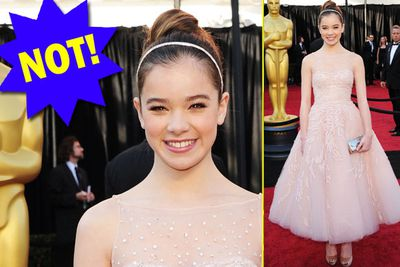 Hailee reminds us all she is 14 by wearing something straight out of <i>Toddlers & Tiaras</i> hell.