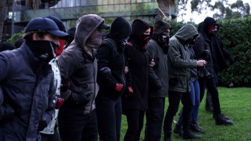 Anarchists go up against far-right groups. (Stan)