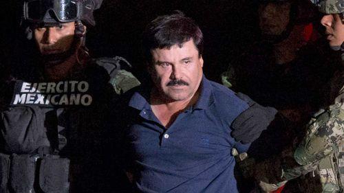 Joaquin 'El Chapo' Guzman.
