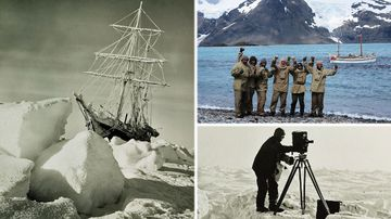 Antarctic expedition hopes to find lost ship of famed explorer