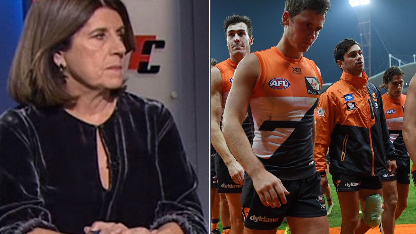 GWS Giants in danger of losing All-Australian star following 2018 season demise