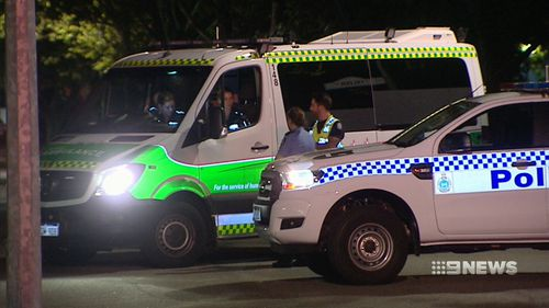 The 27-year-old victim is in a serious but stable condition in a Perth hospital. (9NEWS)