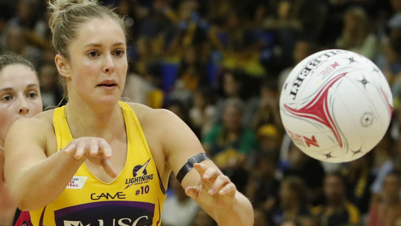 Sunshine Coast Lightning get back on track with comprehensive win over Adelaide Thunderbirds