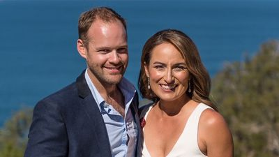 Jayne Azzopardi and Trent Butler marry in Tasmania