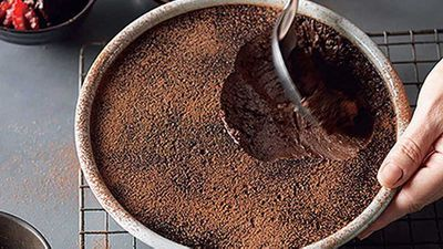 "<a href=""http://kitchen.nine.com.au/2016/05/05/13/35/suzanne-gibbs-rich-chocolate-mousse"" target=""_top"" draggable=""false"">Suzanne Gibbs' rich chocolate mousse</a> recipe"