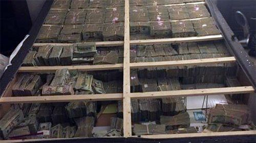 US agents seize $26m in cash hidden under mattress