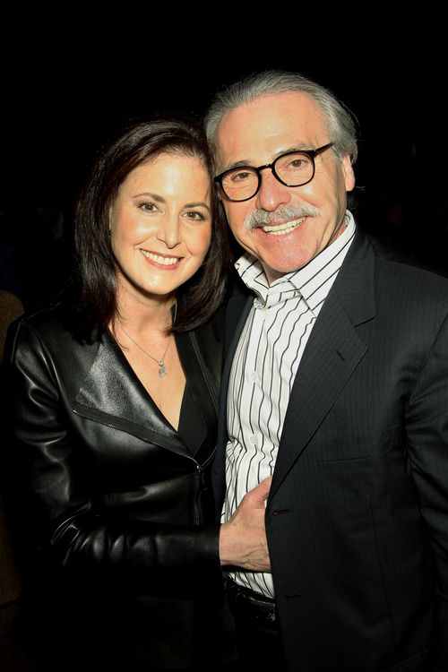 David Pecker, pictured with wife Karen, became friendly with Trump after being invited on to The Apprentice in 2010.