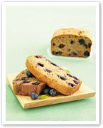 Banana and blueberry bread