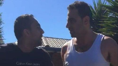 Mr Hoblos and Manu Singh were involved in a violent dispute.