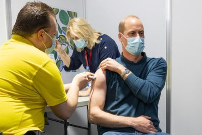 Prince William received his first dose of the COVID-19 vaccine. To all those working on the vaccine rollout - thank you for everything you've done and continue to do.