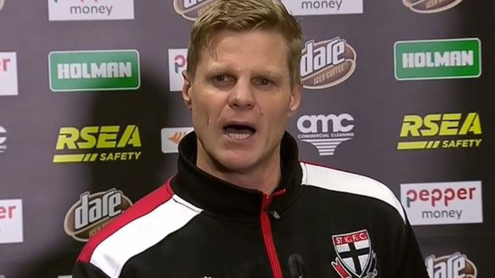 St Kilda great Nick Riewoldt announces his retirement. (Fox Sports)
