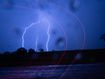 Lightning, hail and floods as storm season lashes eastern states