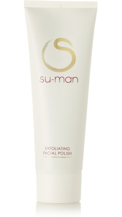 """<p><a href=""""http://www.net-a-porter.com/product/504582/Su_Man_Skincare/exfoliating-facial-polish-125ml"""" target=""""_blank"""">Exfoliating Facial Polish, $60, Su-man Skincare</a></p><p>This skincare range was&nbsp;created by London-based facialist Su-Man Hsu, who&nbsp;counts Juliette Binoche and Freida Pinto as clients.&nbsp;The polish is jam-packed with coffee,&nbsp;rosehip oil and dragon's blood extract (a sap from the Amazonian Croton&nbsp;Lechleri tree) to help buff and add radiance to tired, dull skin.</p>"""