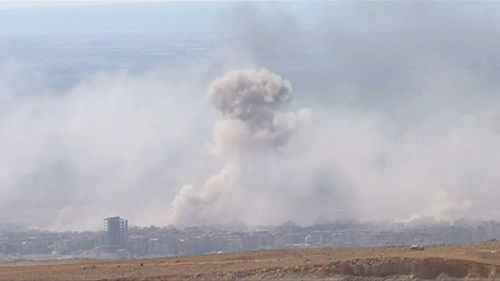 Syrian state media has denied chemical weapons were used. (9NEWS)