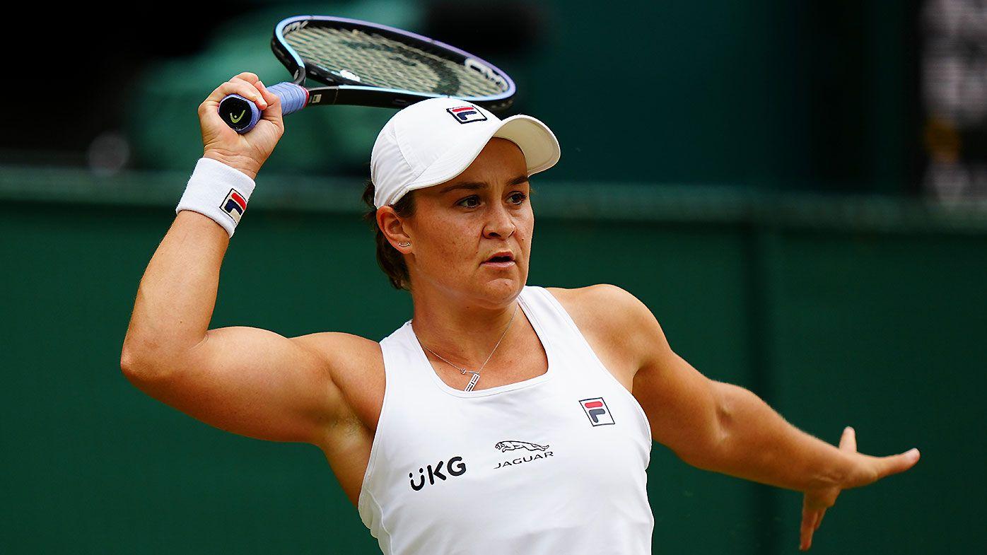 Ash Barty beats Angelique Kerber in straight sets, will play Karolina Pliskova in Wimbledon final