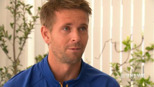 Former AFL player Mark LeCras and other passing motorists pulled the 29-year-old man and a 52-year-old woman from the wreck on the Great Eastern Highway in Sawyers Valley on Wednesday.