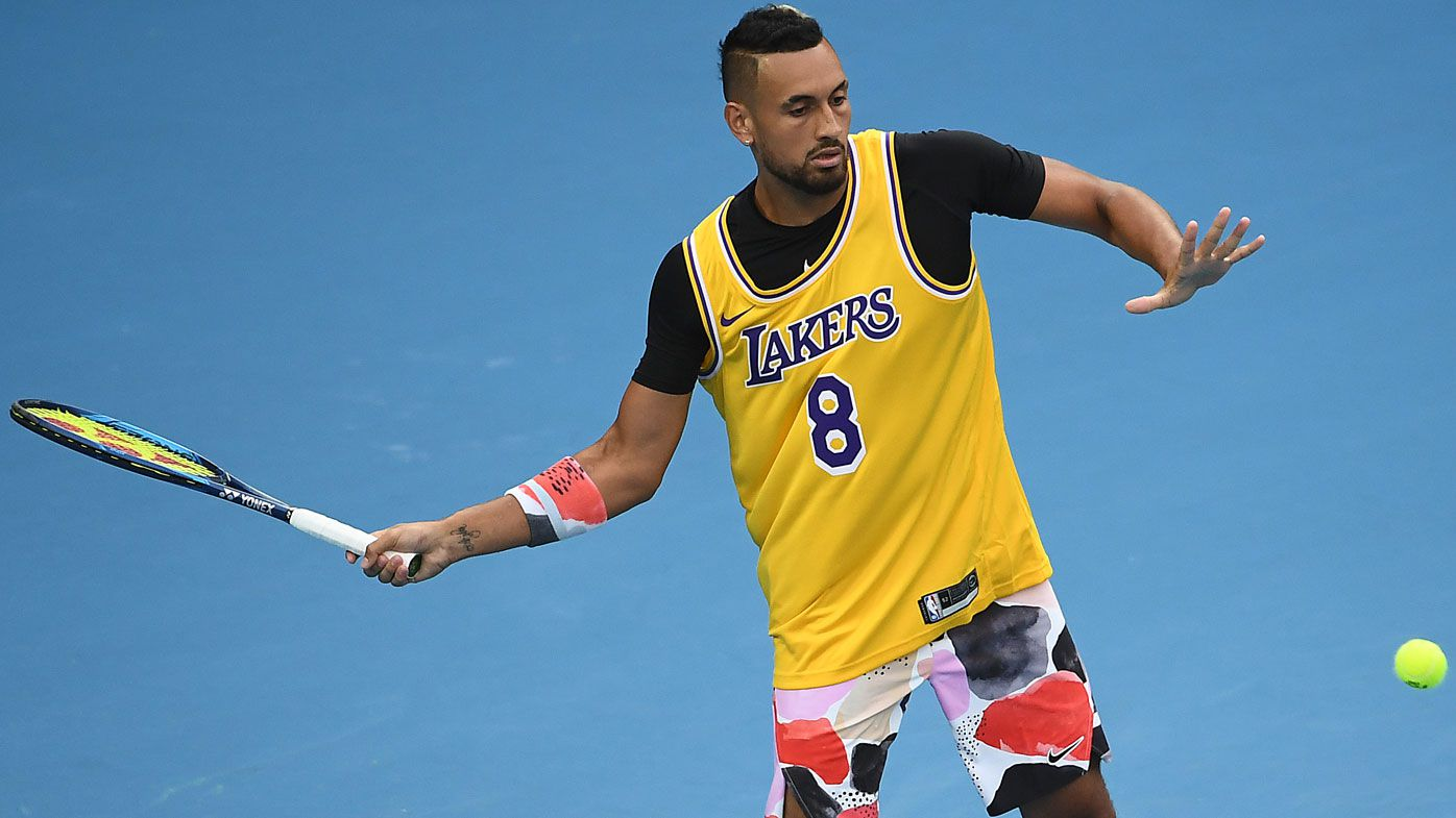 Nick Kyrgios reveals stunning new tattoo featuring Kobe Bryant and LeBron James