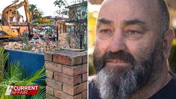 Man's win after insurance battle over a fallen wall