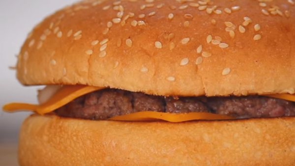 Homemade McDonald's Quarter Pounder
