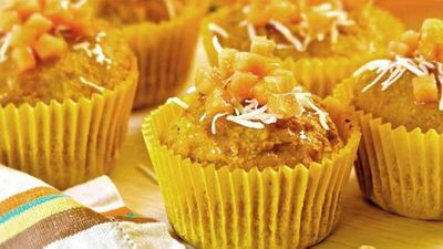 "<a href=""http://kitchen.nine.com.au/2016/05/05/10/05/papaya-and-coconut-muffins"" target=""_top"">Papaya and coconut muffins</a> recipe"