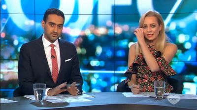 Carrie Bickmore breaks down on 'The Project' over celeb-filled anti-bullying campaign video