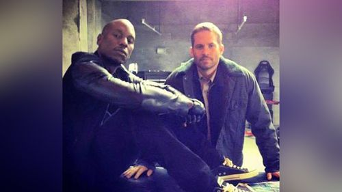 'Fast & Furious' co-star Tyrese Gibson shared this photo tribute. (Facebook)