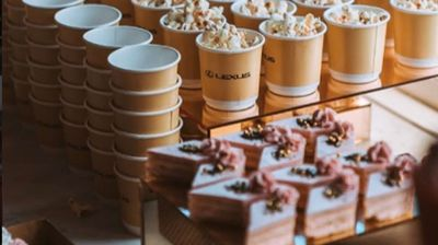 <strong>Lavish Lexus marquee at Melbourne Cup is sweetness and light</strong>