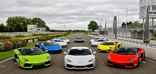 Sports car drivers may be confined to closed roads in the future. (Lamborghini)