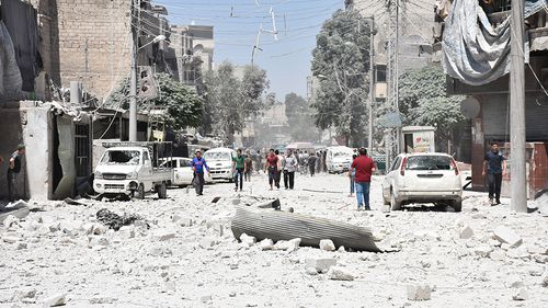 Children among 56 civillians killed in US-led airstrikes in Syria