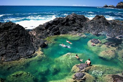 <strong>Mermaid Pool, Matapouri </strong>