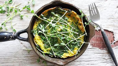 "<a href=""http://kitchen.nine.com.au/2016/06/06/12/26/kuku-sabzi-the-persian-omelette"" target=""_top"">Kuku sabzi, the Persian omelette<br /> </a>"