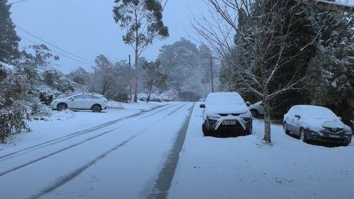 Blackheath in NSW this morning.