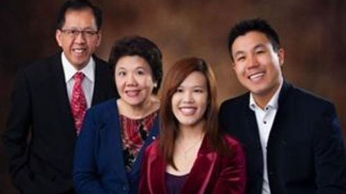 The Cheng family.