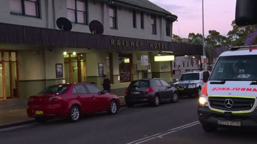 Man stabbed while trying to protect alleged attacker's girlfriend at Sydney pub
