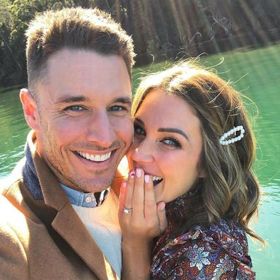 Georgia Love, Lee Elliot, The Bachelorette, engaged, ring