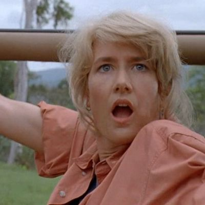 Laura Dern as Dr Ellie Sattler: Then