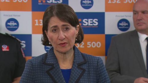 NSW Premier, Gladys Berejiklian