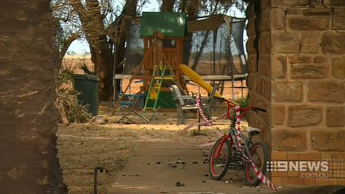 Thieves have targeted fire-damaged properties. (9NEWS)