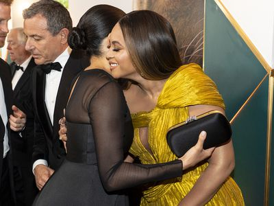 Beyonce with Meghan Markle, 2019
