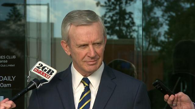 Parramatta chief Bernie Gurr addresses media about Radradra charges