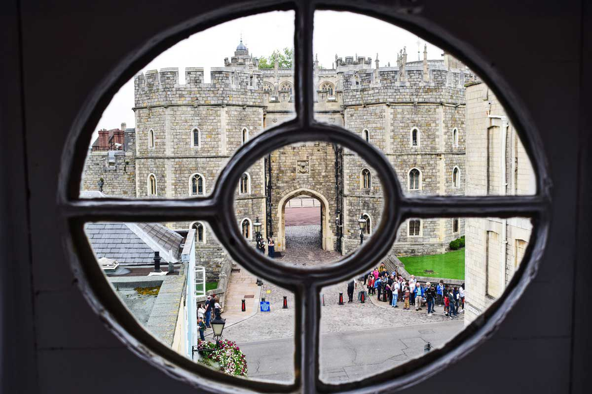This Airbnb property is 75 yards from Windsor Castle, where the Royal wedding is held