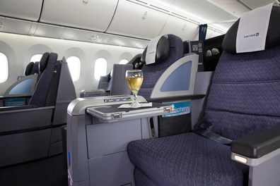 The aircraft is currently fitted with 48 lie-flats seats.