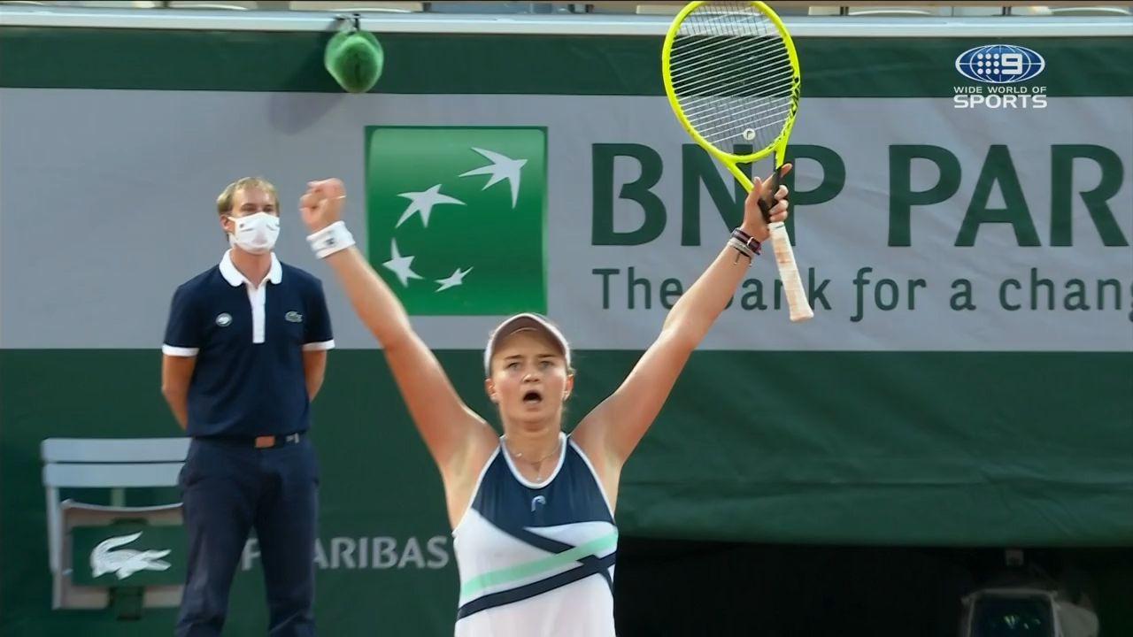 Unseeded Barbora Krejcikova shocks tennis world to win first Grand Slam title at Roland-Garros